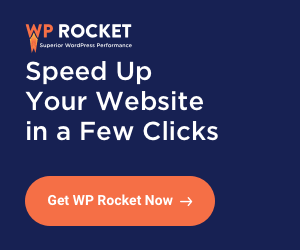 WP Rocket trial